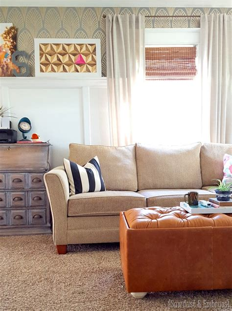Diy Tufted Ottoman by Upholstered Ottoman Tufting Reality Daydream