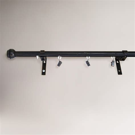 indoor outdoor traverse curtain rod world market