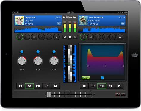 ipad mixing desk app maxx