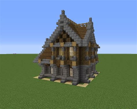 small medieval house  blueprints  minecraft houses castles towers   grabcraft