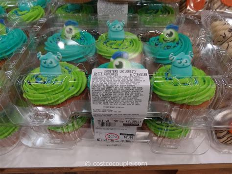 monsters university white cupcakes