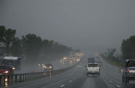 tips  driving   rain storm ad auto body bozeman