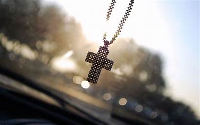 Cross Desktop Wallpapers Rosary Background Backgrounds Holy