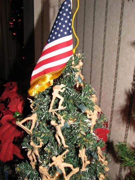 army men christmas tree yarmy pinterest