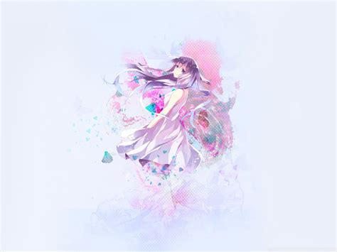 Anime Wallpaper Pastel - free pastel anime phone wallpaper by nicolex