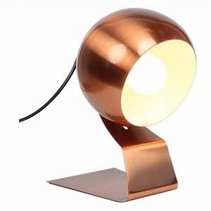 Lampe à Poser Cuivre : lampe poser cuivre mimosa par ~ Dailycaller-alerts.com Idées de Décoration