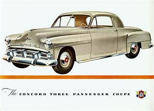 1951 Plymouth Concord Three Passenger Coupe