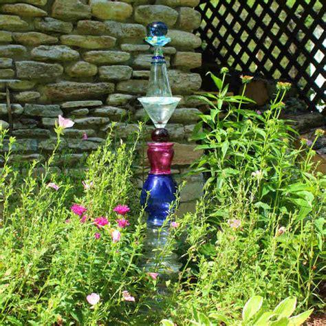 cool glass garden art totem hometalk