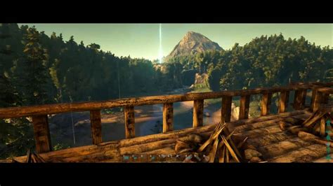 Ark Boat Glitch by Tree House Survival Ep2 Ark Survival Evolved Tree