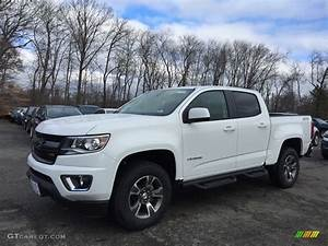 2017 Summit White Chevrolet Colorado Z71 Crew Cab 4x4 ...