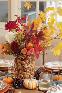 Herbst Tischdeko Natur : basteln mit naturmaterialien im herbst 33 dekoideen zum selbermachen ~ Bigdaddyawards.com Haus und Dekorationen