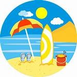 Beach Icon Icons Summer Surf Umbrella Svg