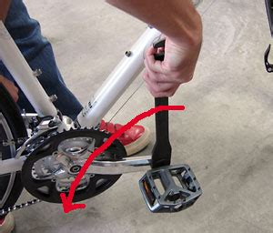 自転車 ペダル 外し 方
