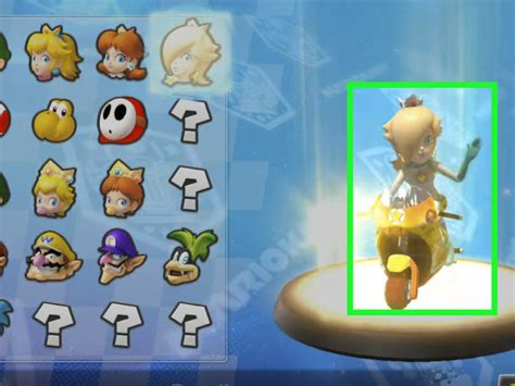 How To Unlock Rosalina In Mario Kart Wii 8 Steps With