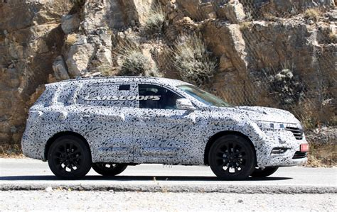 Spy Shots Meet Renault's New Large Suv Carscoops