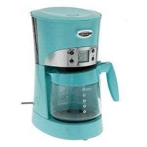 Coffee iced tea maker might begin to crack. Hamilton Beach 40119 Eclectrics All-Metal 12-Cup Coffeemaker, Sea Breeze | Coffee maker ...