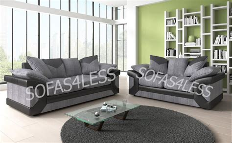 Cheap 3 2 Seater Sofa Deals by Sale New Dino 3 2 Seater Sofa Fabric Faux Leather