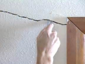 Hairline Cracks In Ceiling And Walls by How To Repair Cracks And Holes In Drywall How Tos Diy