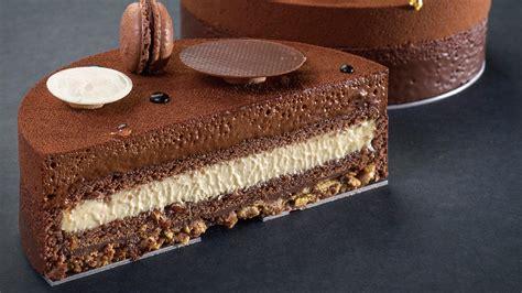 entremets chocolat avocat  tortilla cacao barry