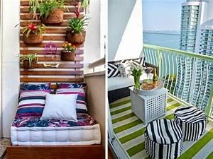 Balkonmöbel Für Schmalen Balkon : 1001 ideen zum thema schmalen balkon gestalten und ~ Michelbontemps.com Haus und Dekorationen