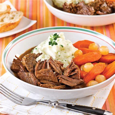 r 244 ti de boeuf 224 la bi 232 re 224 la mijoteuse recettes cuisine et nutrition pratico pratique