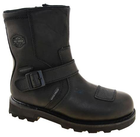 buy motorcycle waterproof boots harley davidson men 39 s blaine waterproof motorcycle boots