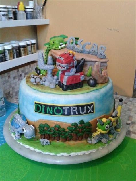 23 Best Dinotrux Cake Images On Pinterest Birthdays