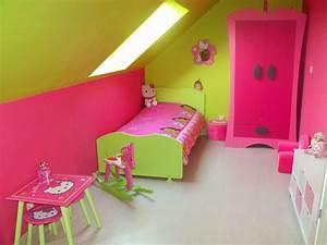 Chambre Fille 4 Ans : chambre fille photo 1 1 chambre de flavie 4 ans ~ Teatrodelosmanantiales.com Idées de Décoration