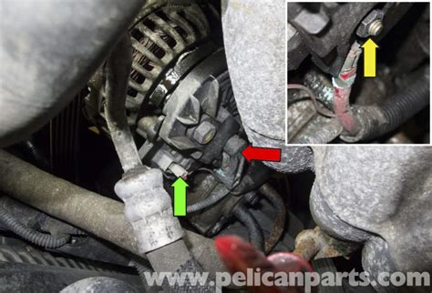 electric power steering 1998 volvo s90 auto manual volvo v70 alternator replacement 1998 2007 pelican parts diy maintenance article