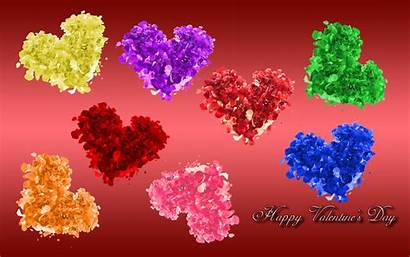 Valentines Wallpapers Colorful Hearts Heart Pixelstalk