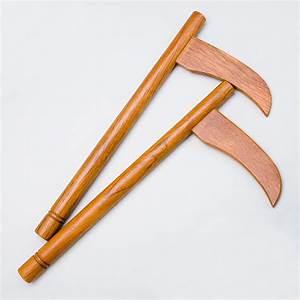 Kama - Red Oak » Wooden Kama » Kama » Martial Arts Weapons ...