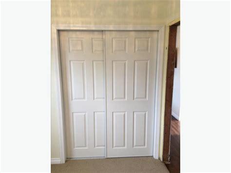 six panel sliding closet doors esquimalt view royal
