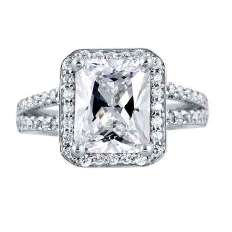 princess cut engagement rings halo ring princess cut halo rings