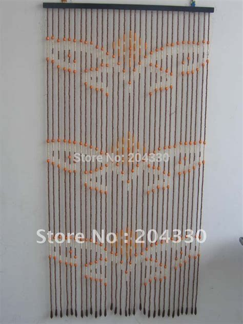 Door Bead Curtains Spencers by Wooden Beaded Door Curtains In Curtains From Home Garden