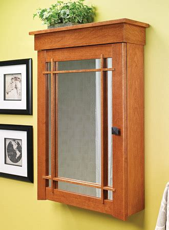 medicine cabinets woodsmith plans