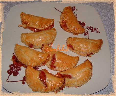 truc facile à cuisiner quot mini chausson fraise quot cuisine facile d 39 oumhilal