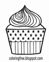 Coloring Cupcake Cream Maple Syrup Tree Whipped Lemon Pie Canada Template Chocolate sketch template