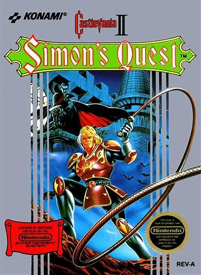 Castlevania Quest Nes Simon Ii Nintendo Box