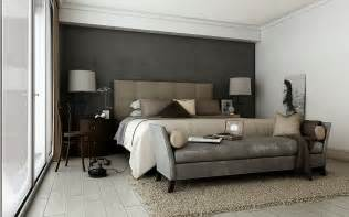 smart and sassy bedrooms - Wandfarbe Grau Beige