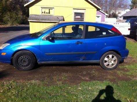 ford focus 2 door sell used 2001 ford focus 2 door hatchback in new