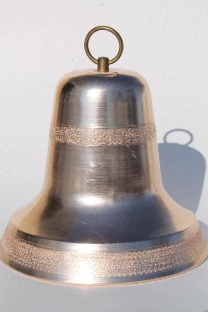 vintage holiday decoration large christmas bell