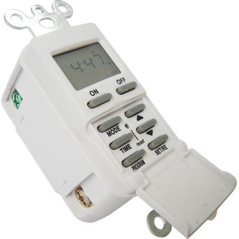 light timer switch shop utilitech 15 digital residential hardwired
