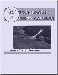 Bell Helicopter 47 G Illustrated Parts Catalog Manual