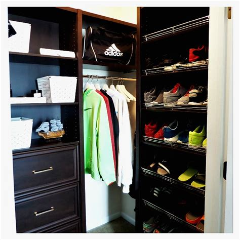 school teen boy closet makeover wclosetmaid space