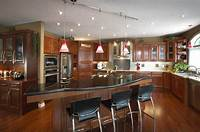 lovely larget kitchen plan Large Country Kitchen Designs | KITCHENTODAY