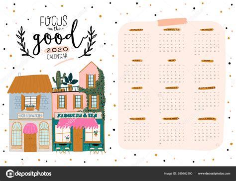 cute wall calendar