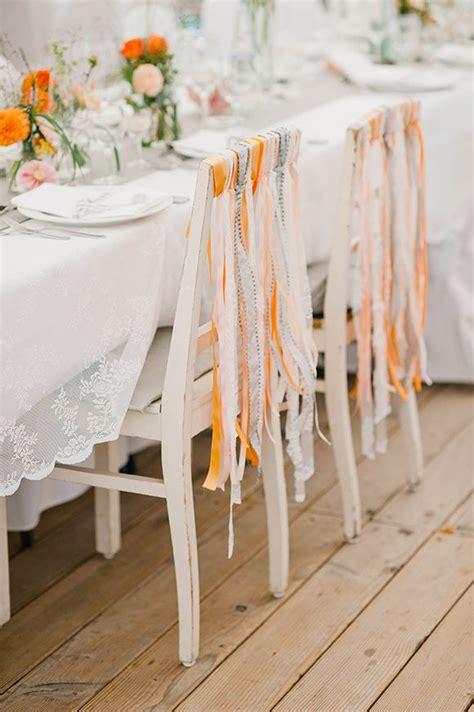 deco chaise mariage décoration chaise mariage pas cher le mariage