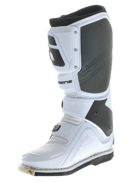 mx boots gaerne white sg12 mx boot ebay