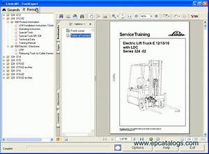Linde Truck Expert 2011 Workshop Service Manual Download