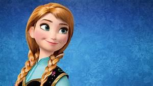 Anna Frozen Disney Cartoon Wallpaper X - Wallpapersfans.com